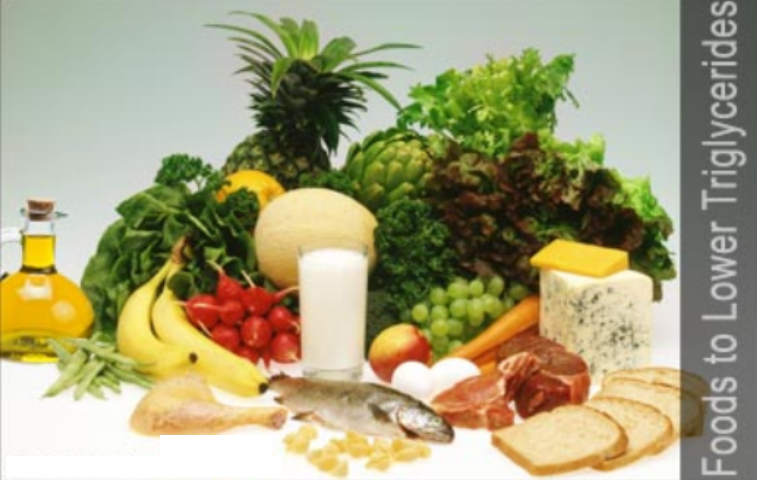 Foods with triglycerides in them